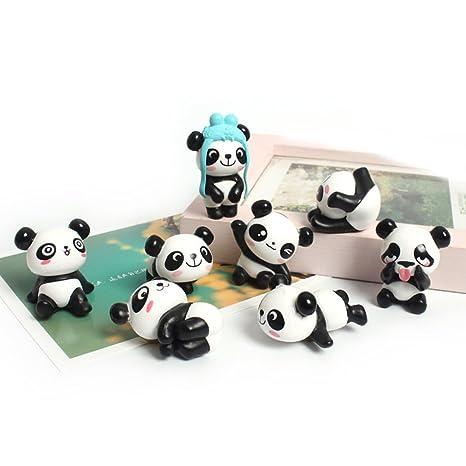 Amazon.com: 8 Unidades Imanes de nevera Panda nevera imanes ...