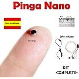PinganilloMic - Auricolare nano nascosto, per esami