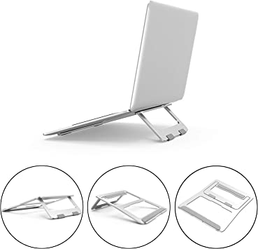 Wieppo Adjustable Laptop Stand Foldable Laptop Stand Portable.N