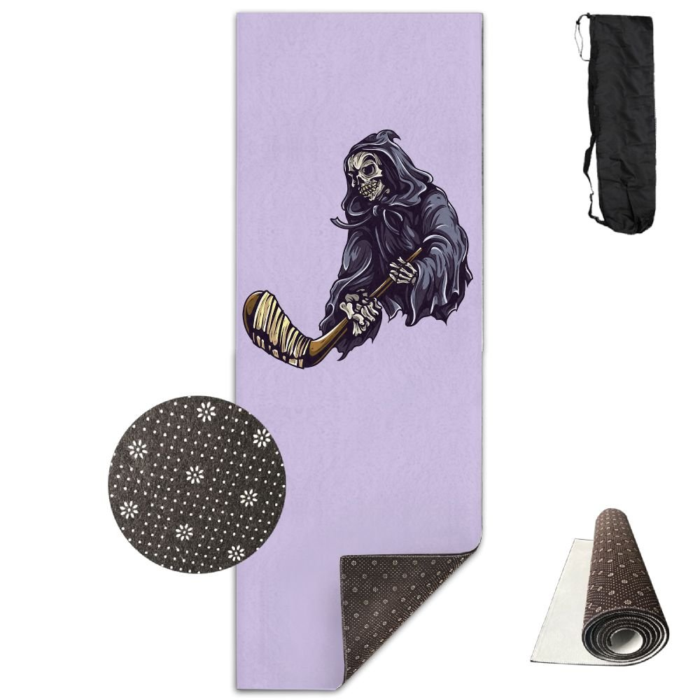 Amazon.com : Jessent Yoga Mat Non Slip Graffiti Art Printed 24 X 71 Inches Premium For Fitness Exercise Pilates With Carrying Strap : Sports & Outdoors