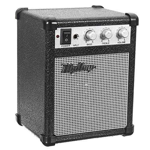 - ACDOS 4 Inch Micro Portable 5watt Battery Powered Guitar Amp Amplifier 4 ohms with USB ACDOS