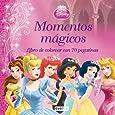 Princesas Disney. Momentos mágicos. Libro de colorear con 70 pegatinas (Princesas Disney / Coloreo con pegatinas)