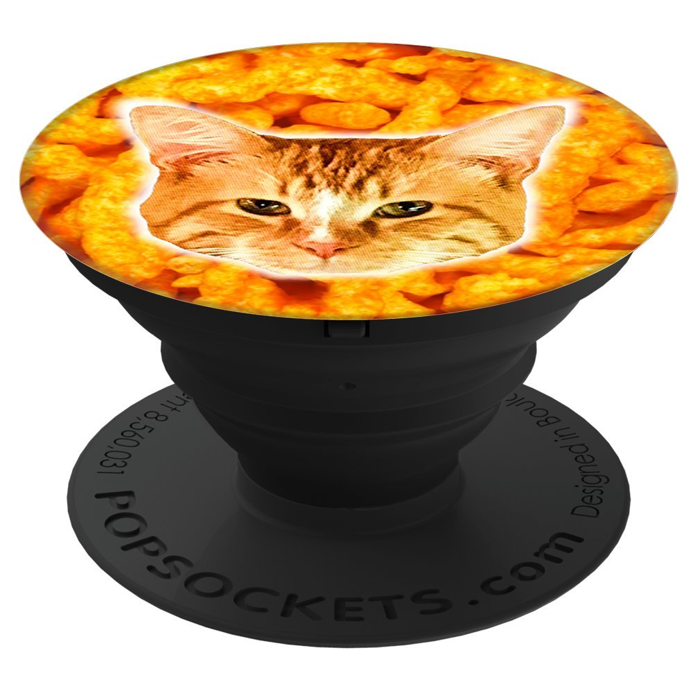 Cheeto Cat Pop Socket