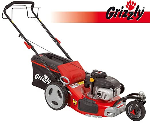 Grizzly BRM Cortacésped de gasolina 46 141 A Motor OHV Trike ...