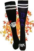 The Sox Box Boo Socks! - Black