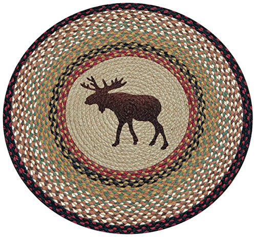 Earth Rugs 66-019M Round Rug, 27