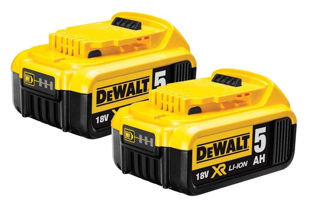 DeWalt B DCB184 - Batería de ion de litio (5,0 Ah, 18 V, 2 ...