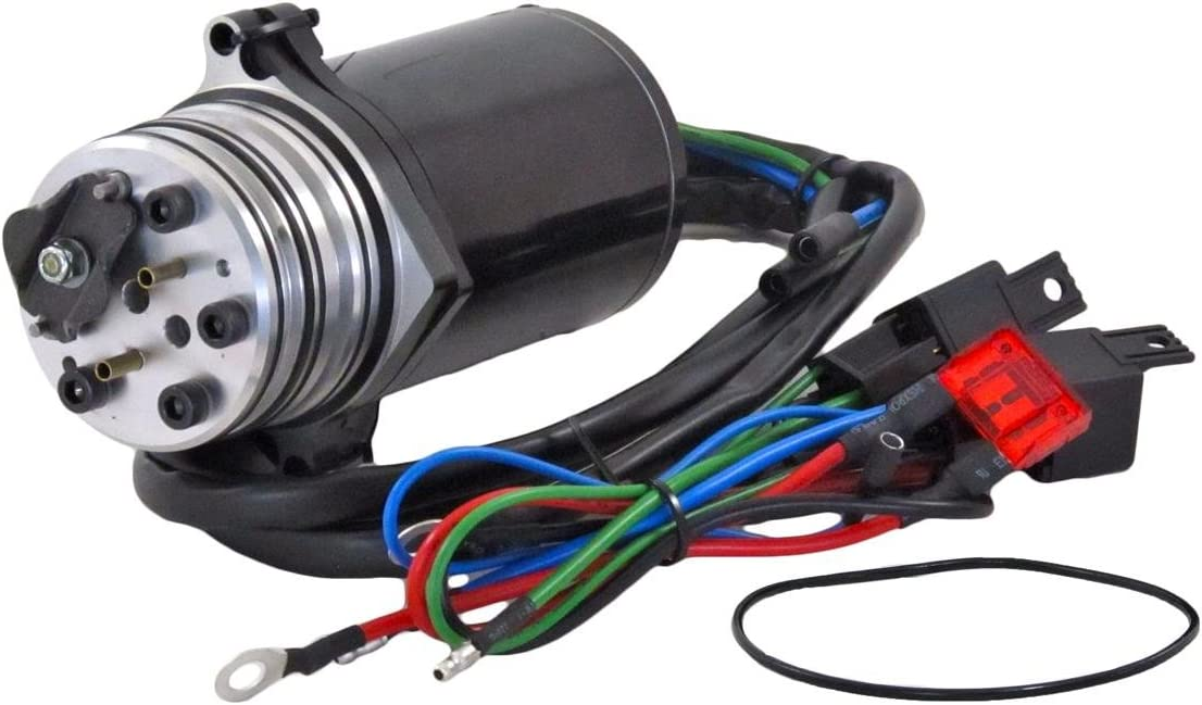 Rareelectrical New Power Tilt Trim Motor Compatible With Mercury 99186 99186T By Part Numbers PT475N PT475TN2 PT475TN PT475TN-2 6278 99186 99186-1 99186T 991861