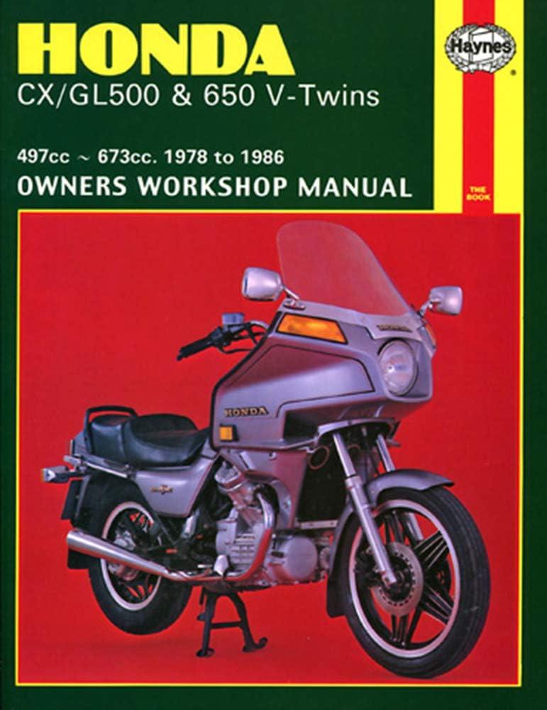 Haynes Manual 442 Hon Cx500 V Twin Auto