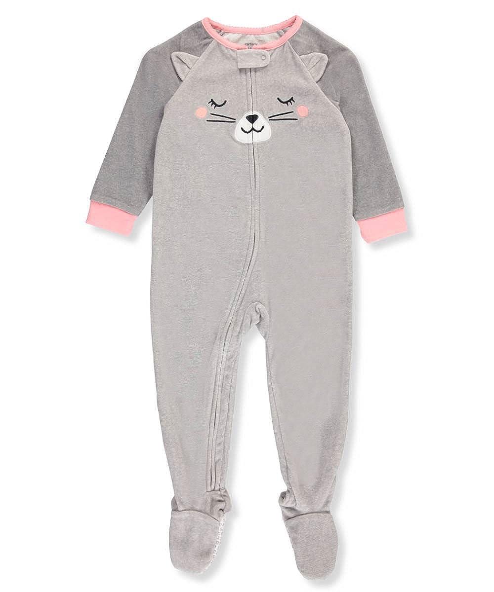 98486b348 Carter s Baby Girls  1 Piece Cat Fleece Pajamas