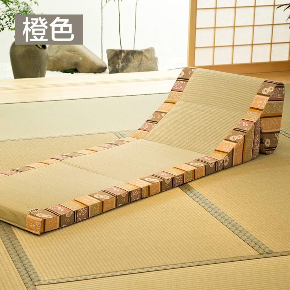 WUTRBYZ 折りたたみ式畳み床シート 日本の床チェア Zaisu 瞑想 ヨガ 伝統的 ラウンジチェア レイジーソファ WUTRBYZ B07JY6RGB5 E