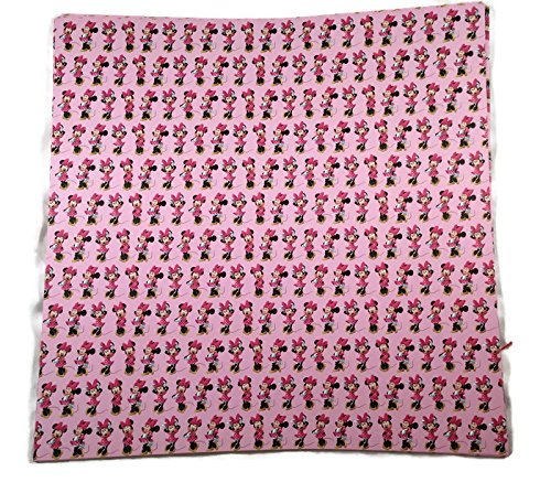 (Pink Minnie Mouse Scrapbook Papers - 4 Sheets)