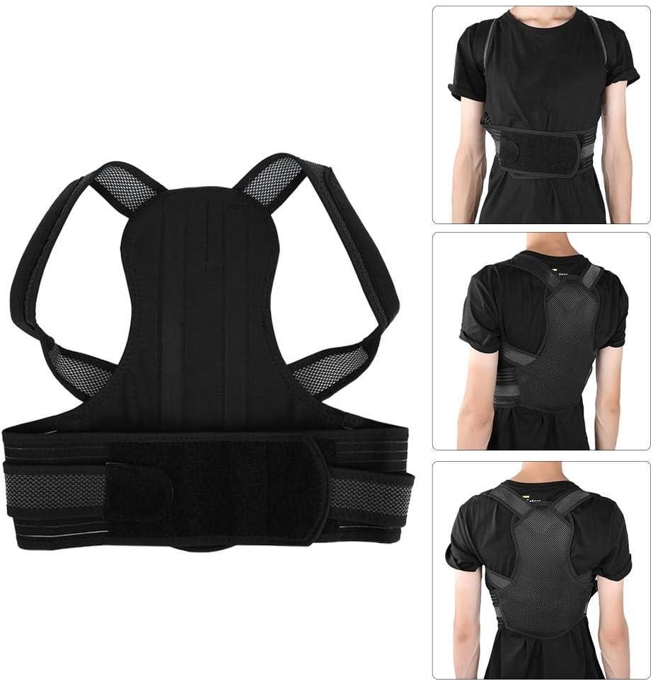 成人姿勢矯正装置、女性と男性用の背中の圧迫腰サポートブレースは、姿勢を改善し、腰痛と腰痛をもたらします