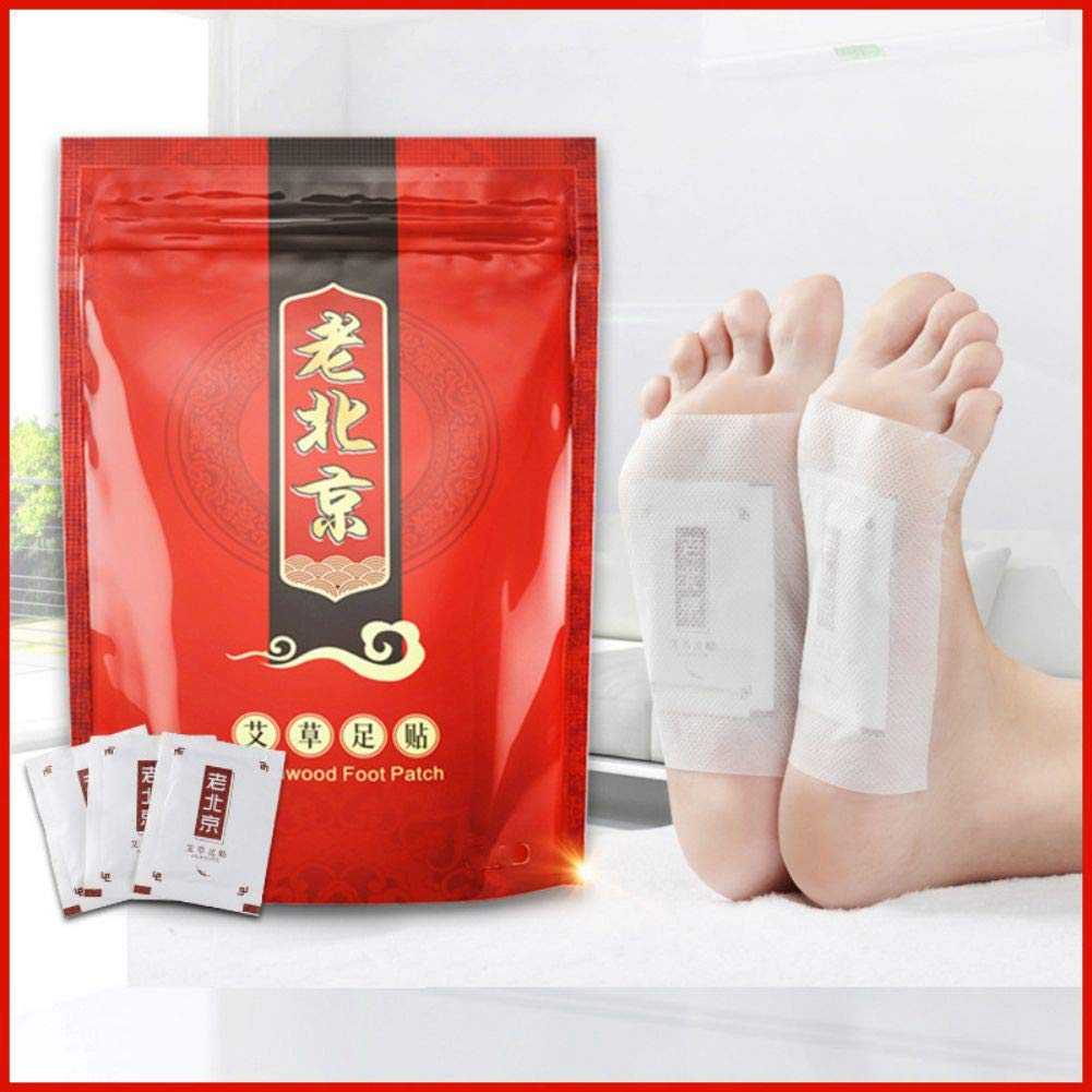 10 Pcs Ginger Foot Patch, Anti-Swelling Detox Foot Patch, Improve Sleep,Promote Blood Circulation,Reduce Pain & Tiredness by Sweetds (Ginger)