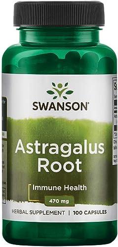 Swanson Astragalus Root 470 Milligrams 100 Capsules