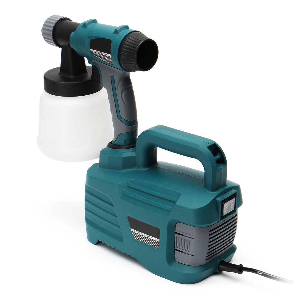 800W 900ML Electric Painter Gun Spray Latex Paint Sprayer House Painting Machine by Ologymart (Image #3)