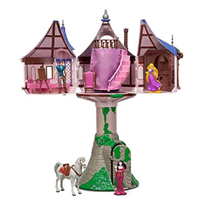 Disney Parks Rapunzel Tangled Tree House Playset Dollhouse: Toys & Games
