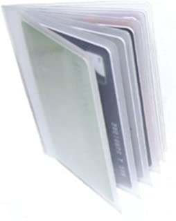 Replacement plastic credit card purse wallet insert sleeves 1 x quality replacement credit card purse wallet insert sleeves for 6 cards reheart Images