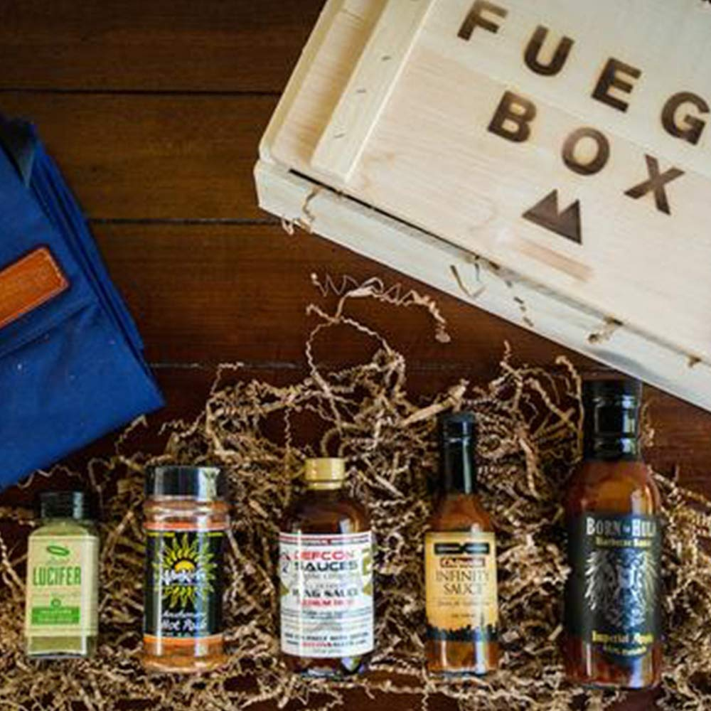 Blazing BBQ Box - Spicy Barbecue Gift Set by Fuego Box (Image #7)