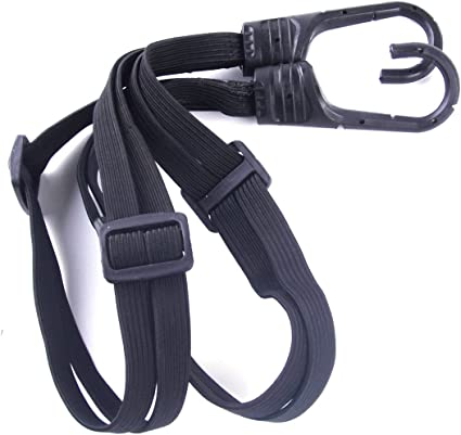 Luggage Straps Tie-Down Belt Luggage Ropes Black For Motorcycle Elastic Ropes KS