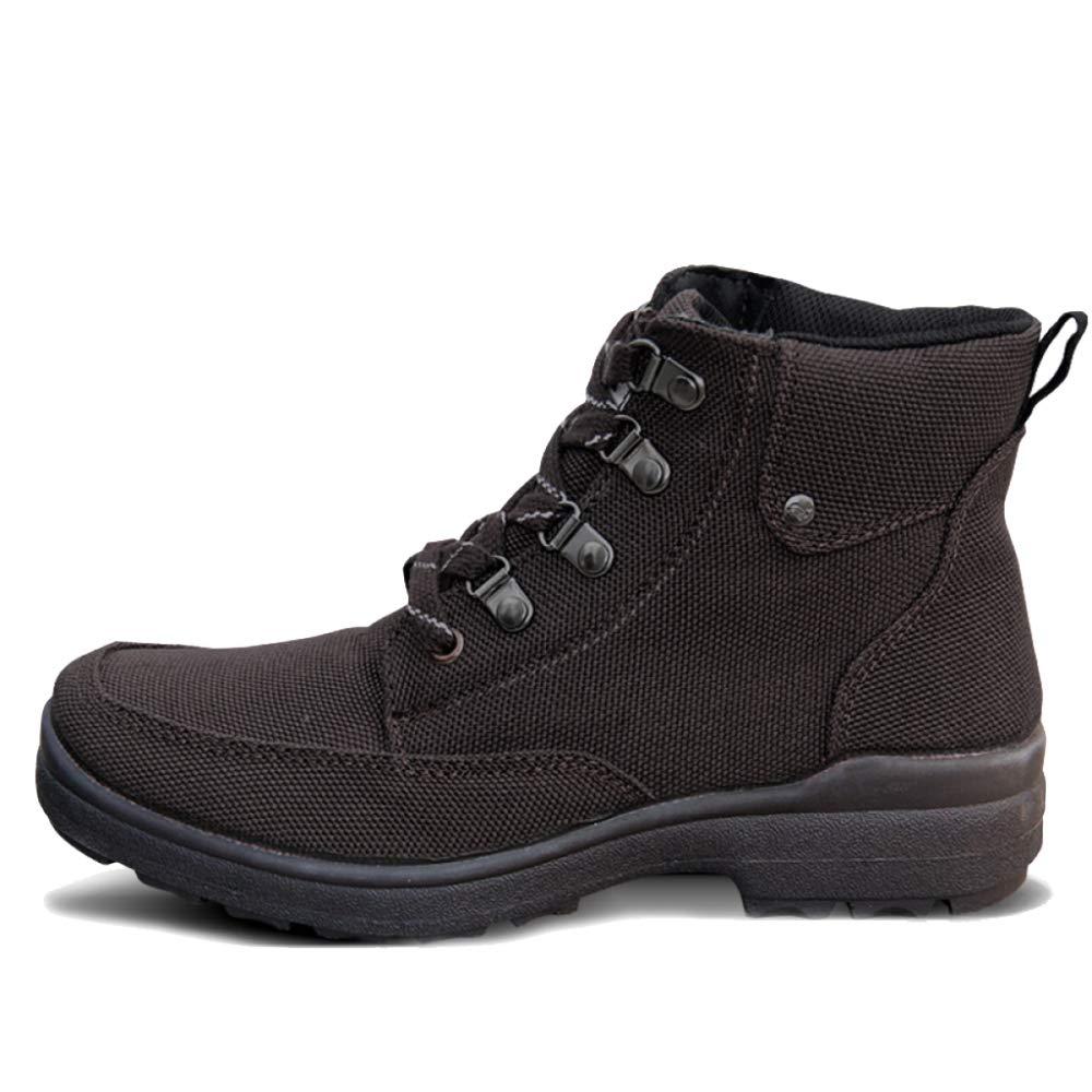 SHANLY Zapatillas De Deporte para Hombre con Cordones Militares Botines De Entrenamiento para El Desierto Botas De Combate para El Desierto Fuerzas Especiales Zapato Deportes Zapatos,Coffee-44 44 Coffee