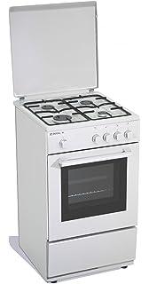 indesit kn1g11sw cucina 50x50 4f/gas f.elett. c/grill bianco ... - Cucine A Gas Indesit