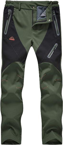 Womens Winter Snow Ski Hiking Pants Outdoor Waterproof Windproof Fleece Insulate