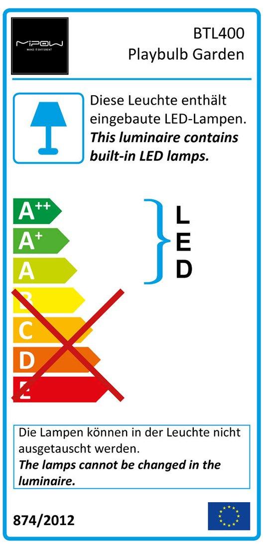 Amazon.com: MiPow Playbulb Bluetooth Garden LED Light Pack 3 ...