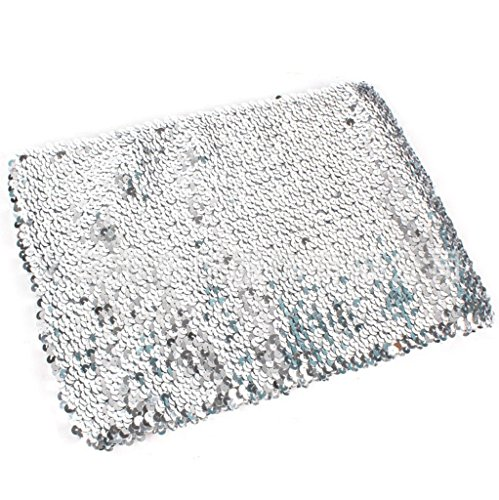 Alivila.Y Fashion Sparkling Sequins Stretch Party Tube Top A11-Silver