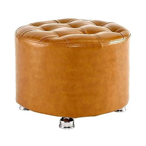 Amazon.com: JINJINTAO - Taburete otomano de madera con 4 ...