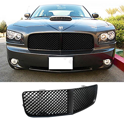 Mifeier Fit 05 10 Dodge Charger Abs Grill Black Sport Mesh Style Front Hood Grille Assembly