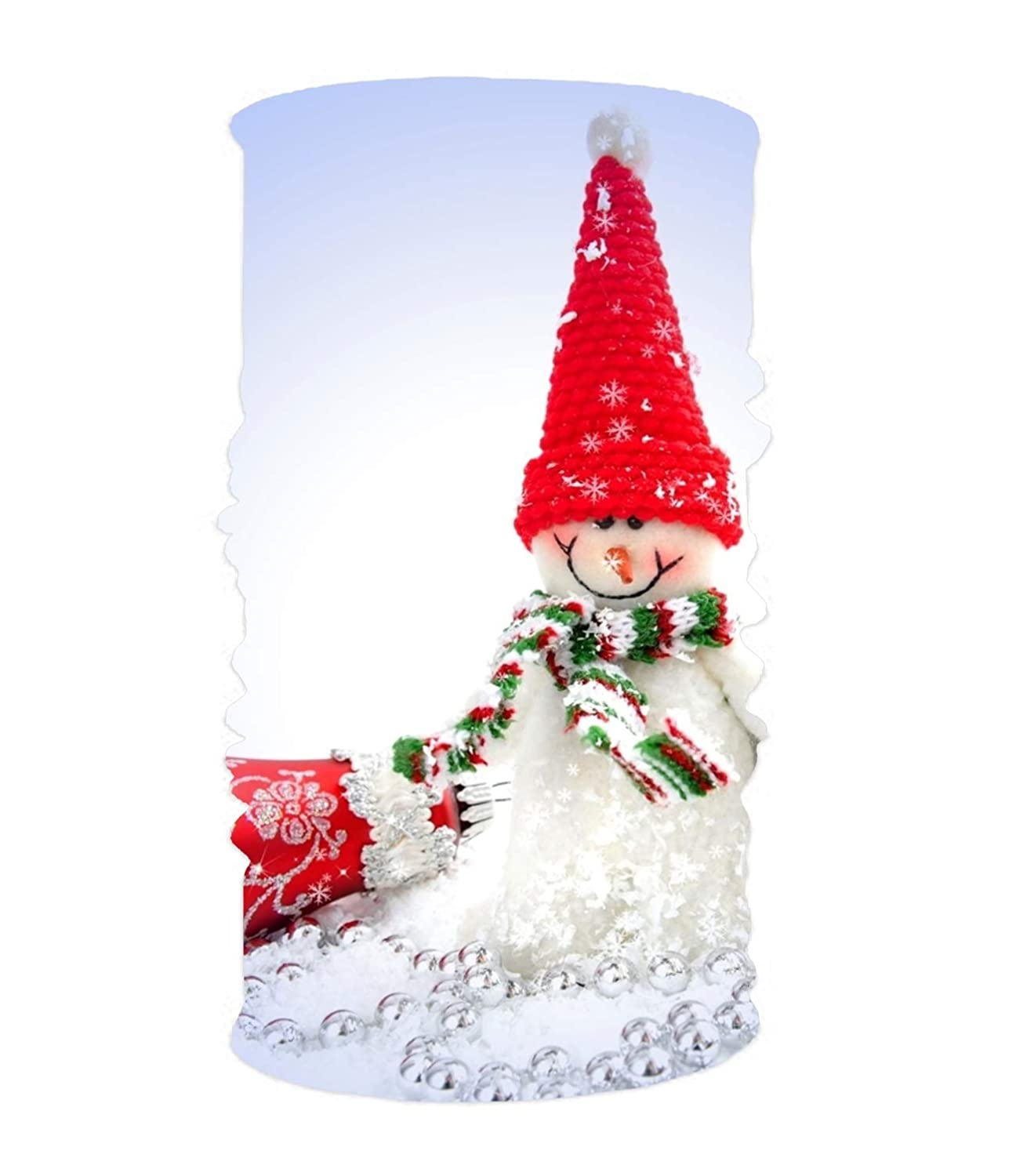 Christmas House Background Unisex Fashion Quick-Drying Microfiber Headdress Outdoor Magic Scarf Neck Neck Scarf Hooded Scarf Super Soft Handle