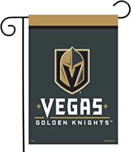 "Sparo Vegas Golden Knights Garden Flag Hockey Licensed 12.5"" x 18"""