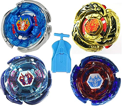 OLIA DESIGN Metal Fusion Starter Set Set of 4 Battling Tops