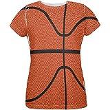 Basketball Costume All Over Womens T Shirt Multi LG