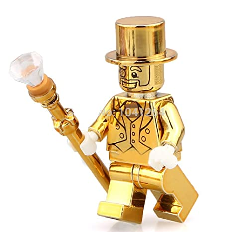 Amazon.com: MR.GOLD Minifigures series 10: Toys & Games