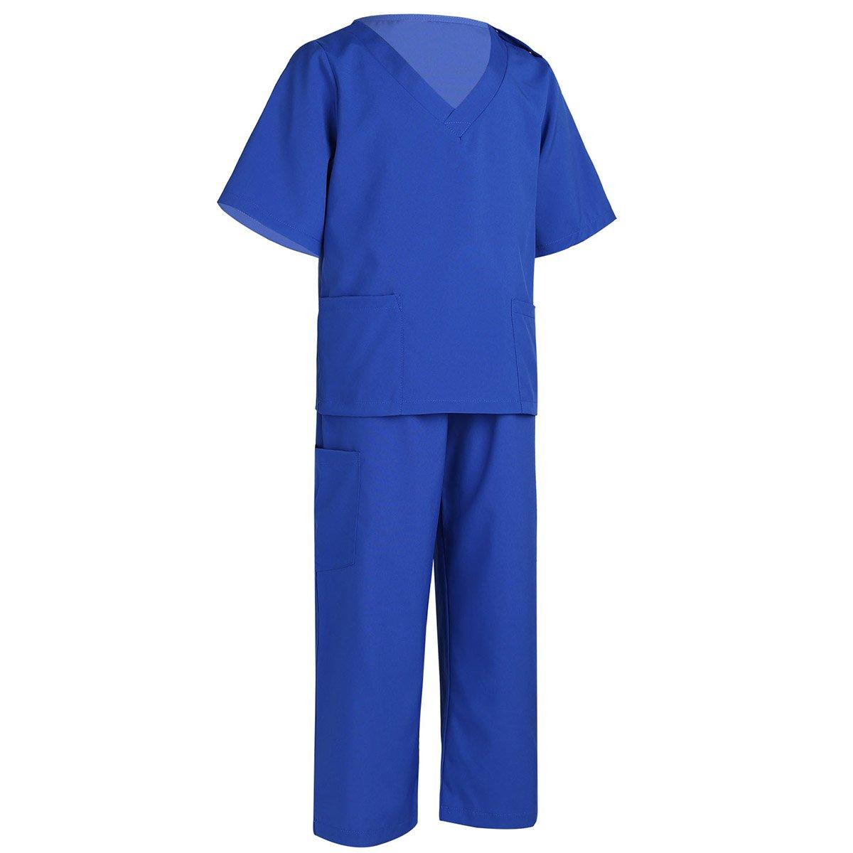 iiniim Unisex Disfraz de Cirujano Médico Scrubs Doctorpara Niños ...