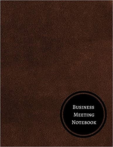 Business Meeting Notebook: Minutes Log