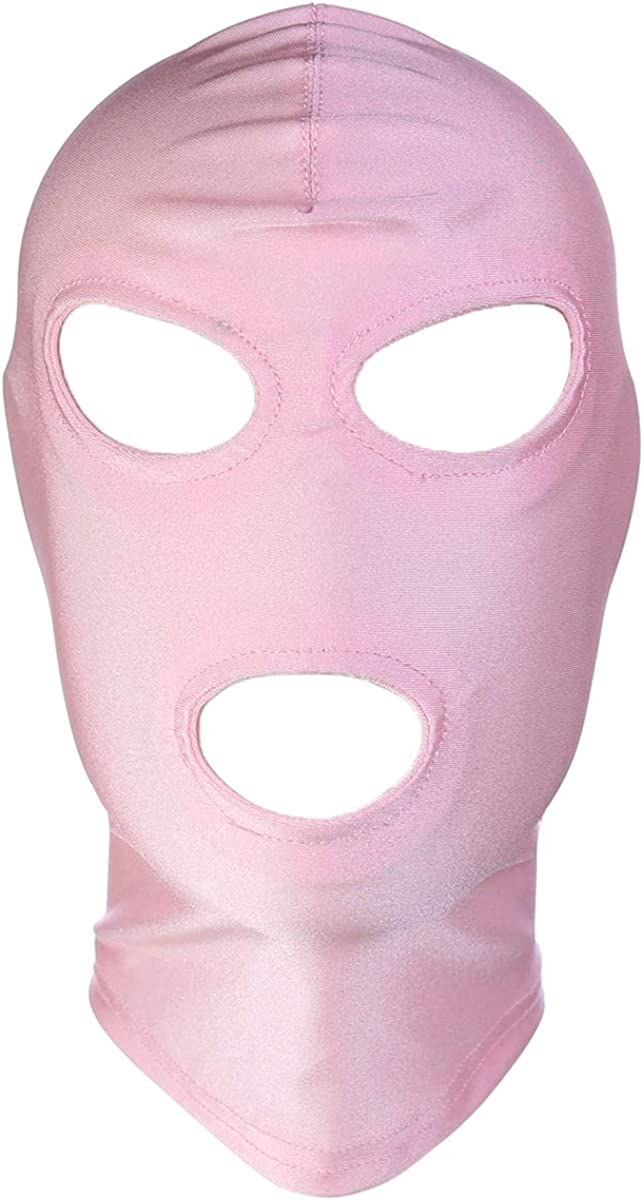 DERENHER Full Face Balaclava Hood Eyes /& Mouth Holes Costume Mask for Cosplay