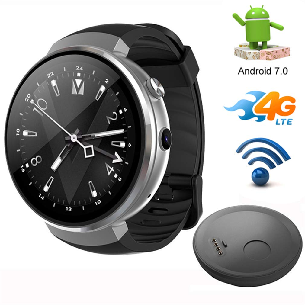 Amazon.com: Bluetooth Smart Watch,4G LET/Android 7.1 ...