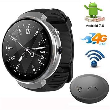 SMARTGOOD Reloj Inteligente Bluetooth, Reloj Inteligente 4G ...