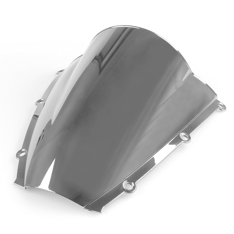 Areyourshop Windshield WindScreen Double Bubble For Honda CBR 600RR 2003-2004 Iridium