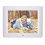 8 inch HD LED Digital Photo Frame Video Picture MP4 Player Calendar Clock + Remote Control