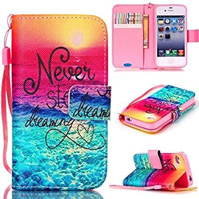iPhone 4S Case,iPhone 4 Case,JanCalm [Wrist Strap Design][Kickstand] Pattern Premium PU Leather Wallet [Card/Cash Slots] Flip Cover for iPhone 4/4S *Including-ONE Crystal Pen from JanCalm It is very useful and looks nice. The only thing that I don't like,