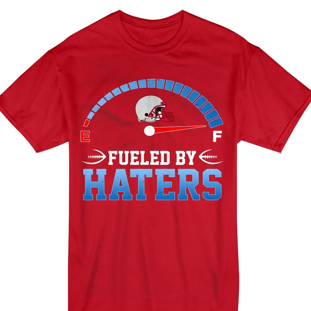 Winter New England Fueled By Haters Football Helmet Shirts