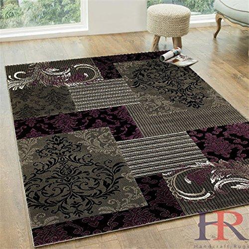 Funky Purple Area Rugs Over 8 Unique Design Styles Take