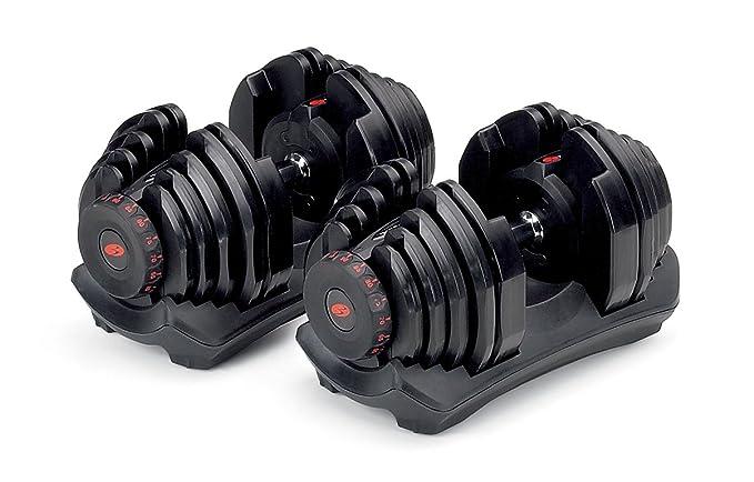Bowflex mancuernas SelectTech 4 de 41 kg (par): Amazon.es ...