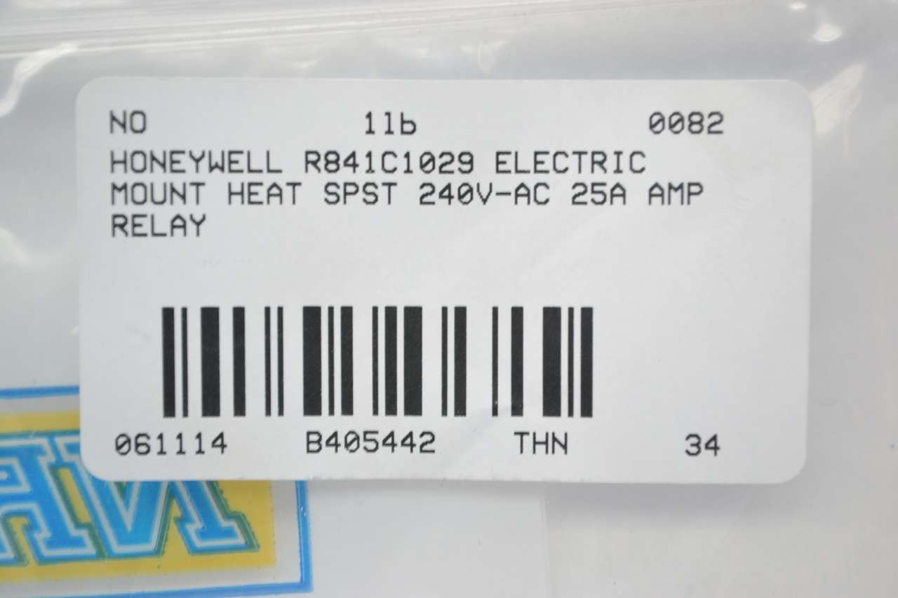Honeywell R841c1029 Electrical Heat Relay Tools Home Electric Improvement