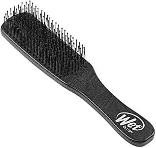 Wetbrush Mens Detangler Scalp & Beard Detangle Hair Brush, Black, Regular, 85 g