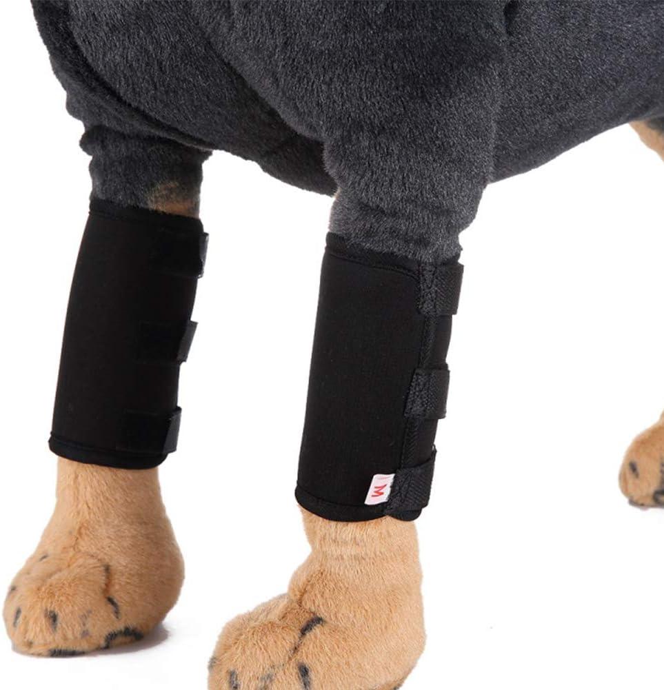 Rodilla Mascotas Alfombra Wrap Vendaje Perro del Calcetín De La Pierna Alivio del Dolor De La Operación/Artritis